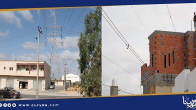 Photo of الكهرباء تحذر من انشاء مباني وأسوار بالقرب من مسارات نقل الطاقة