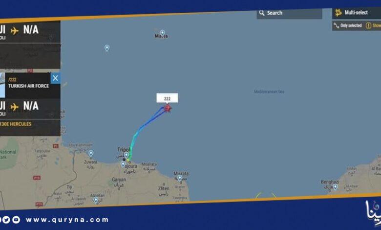 Photo of تركيا تستبيح الأجواء الجوية الليبية دون رادع