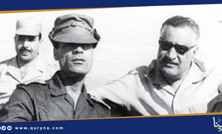 Photo of من الذاكرة.. هكذا ساهم القائد الشهيد معمر القذافي في نصر أكتوبر
