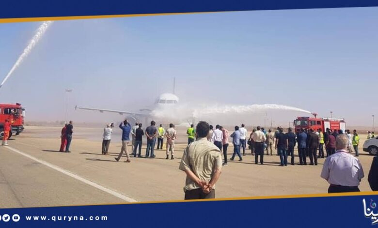 Photo of استئناف الرحلات الجوية بين مطاري بنينا ومعيتيقة