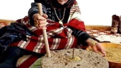 Photo of الرحاه : أداة تقليدية من الموروث الليبي لطحن الشعير والقمح
