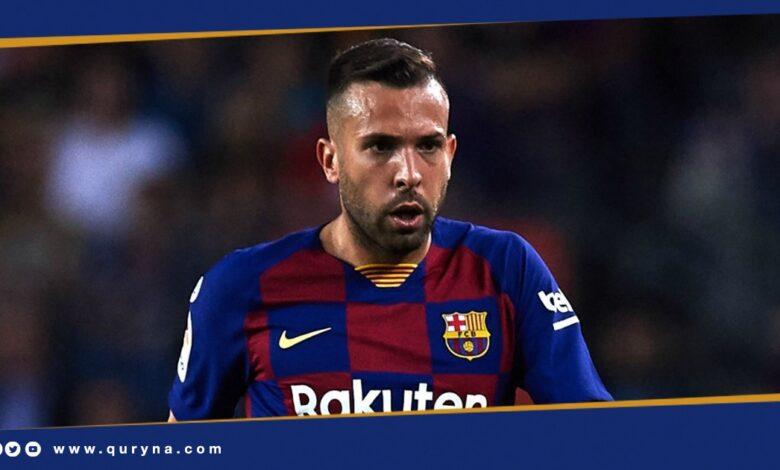 "Photo of برشلونة يعلن إصابة اللاعب ""جوردي ألبا"""