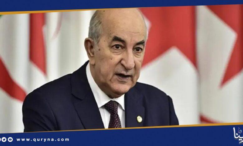 Photo of رئيس الجزائر يدخل الحجر الصحي
