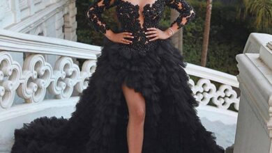 Photo of تميزي مع ألبينا ديلا بفساتين باللون الأسود