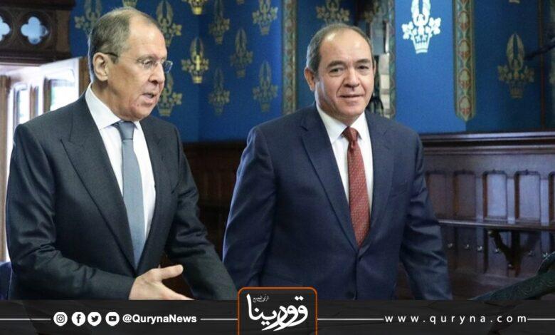 Photo of الجزائر وروسيا يؤكدان على ضرورة وجود حل سياسي للأزمة الليبية