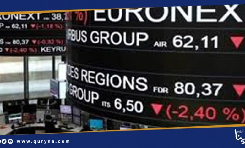 Photo of تراجع مؤشرات الأسهم الأوروبية