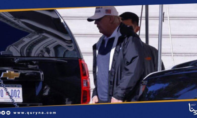 Photo of بالصور- ترامب يغادر البيت الأبيض