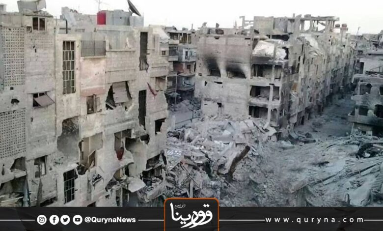 Photo of بنغازي : إزالة المباني المتضررة من الحرب