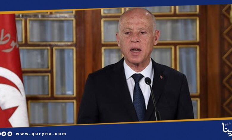 Photo of الرئيس التونسي : هناك جهات إقليمية ودولية تعمل على تقسيم ليبيا