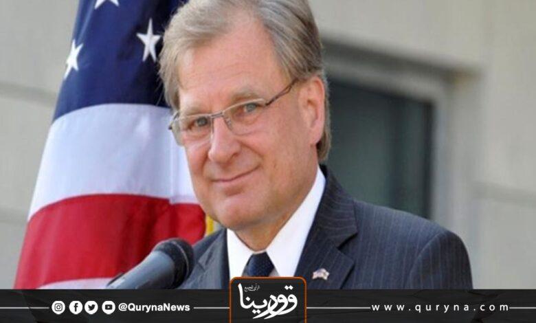 Photo of سفير الولايات المتحدة يؤكد على ضرورة التوصل لحل سياسي