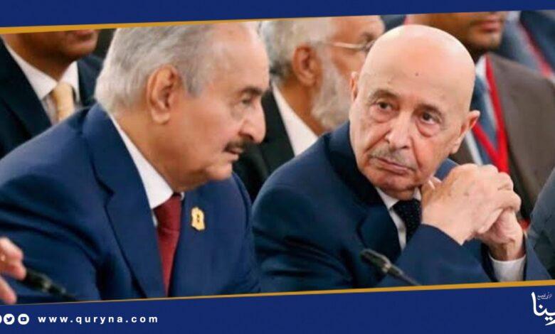 Photo of تحالف بين حفتر والإخوان لإقصاء عقيلة صالح