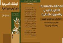 Photo of الجماليات المسرحية التطور التاريخي والتصورات النظرية للباحث عبد المجيد شكير