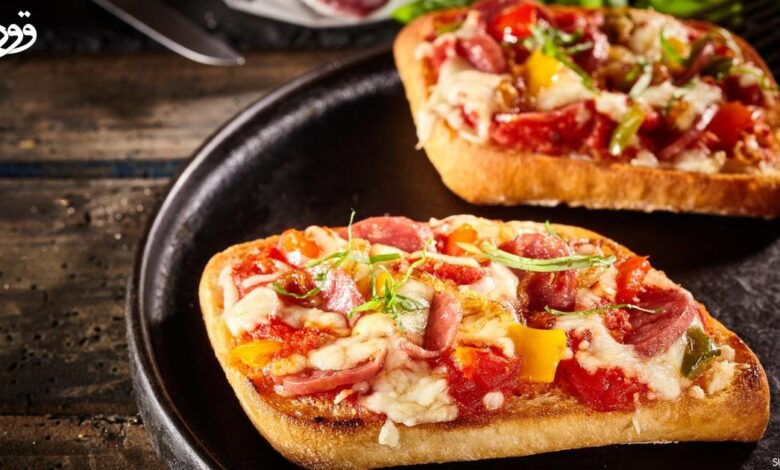 "Photo of قورينا اختارت لكم ""بيتزا ساندوتش"" لعشاء لذيذ"