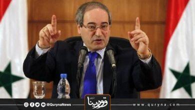 Photo of الرئيس السوري يسمي فيصل المقداد وزيرا للخارجية