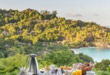 Photo of قورينا اختارت لكم سفرة إفطار شهية مع هدوء البحر وجمال المساحات الخضراء