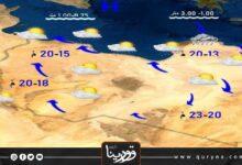 Photo of الأرصاد تتوقع سقوط أمطار متفرقة على المناطق الساحلية