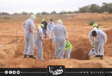 Photo of اكتشاف مقبرتين جديدتين في ترهونة