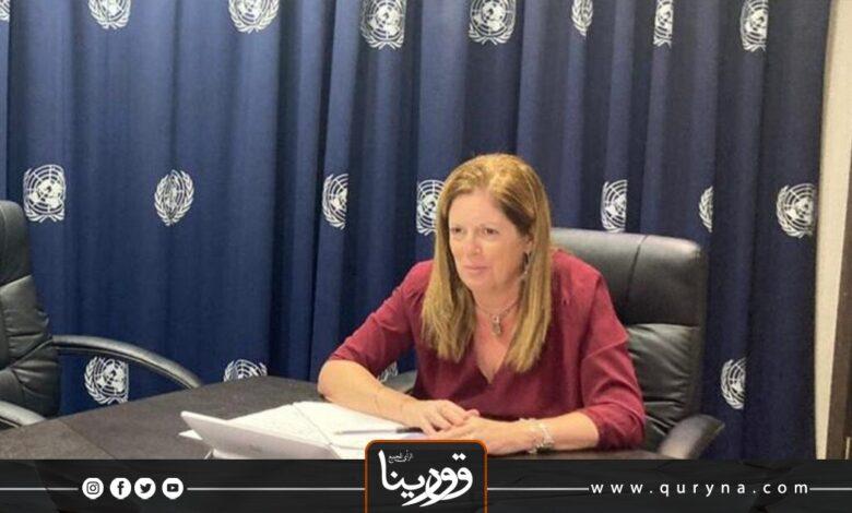 Photo of المبعوثة الأممية تؤكد إجراء الانتخابات التشريعية والرئاسية في موعدها