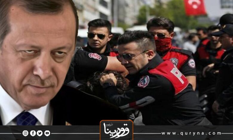 Photo of أردوغان يستهدف معارضيه بمزاعم الإرهاب