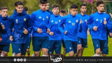 Photo of المنتخب الليبي للشباب يستعد للسفر إلى الجزائر