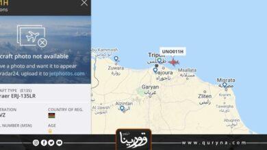 Photo of طائرة الأمم المتحدة تتجه إلى طرابلس