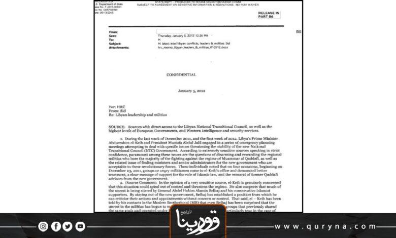 "Photo of خاص قورينا.. ""ليبيا_ نظرة سياسية في الوثائق الأمريكية (5)"""
