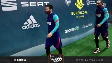 Photo of رغم إيقافه – ميسي يشارك في تدريبات برشلونة