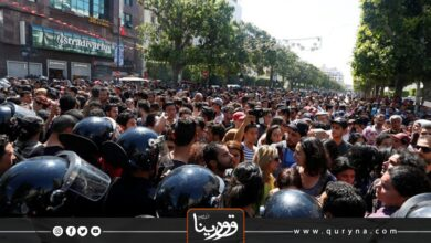 Photo of تونس – احتجاجات واسعة للمطالبة بإطلاق سراح المعتقلين