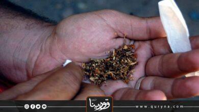 Photo of ضبط ليبي بحوزته مواد مخدرة في زليتن