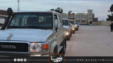 Photo of بنغازي : سرقة سيارة نجدة بمنطقة السيرتي