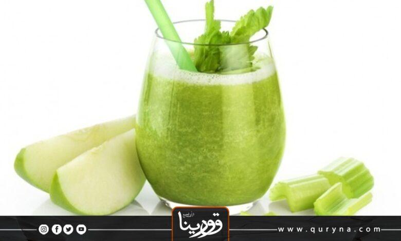 Photo of ديتوكس الكرفس والتفاح لمرضى السكري