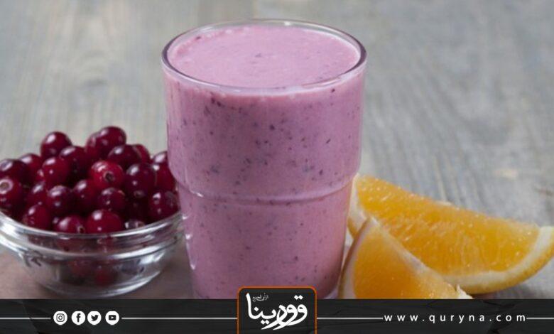 Photo of سموذي التوت بالبرتقال الصحي