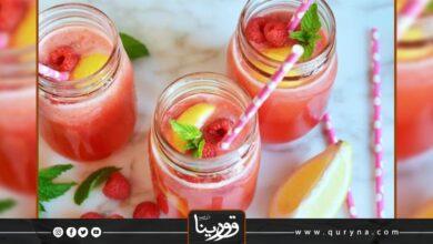 Photo of عصير التوت والليمون