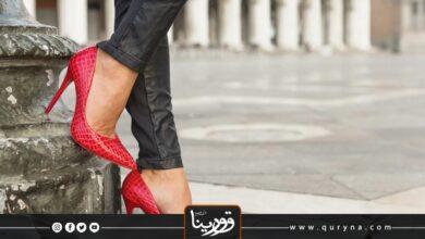 Photo of أحذية باللون الأحمر موضة 2021