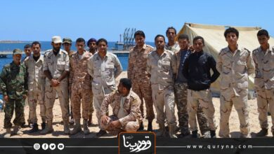 Photo of طبرق – حرس المنشآت النفطية يغلقون ميناء الحريقة
