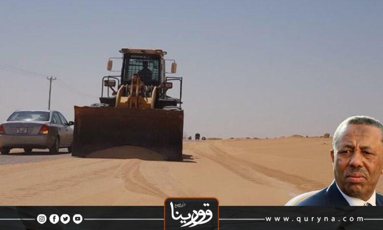 Photo of بعد 10 سنوات _ حكومة الثني تضع حجر أساس لطريق مزدوج