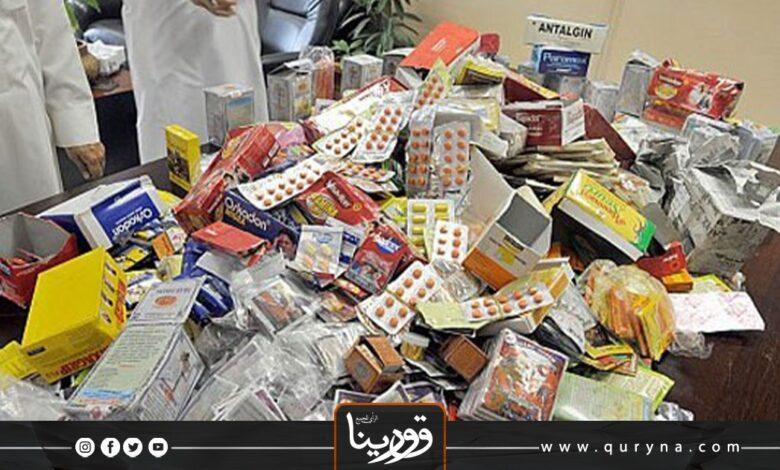 Photo of الأدوية الفاسدة تغرق درنة