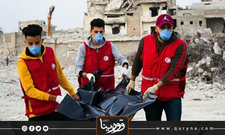 Photo of مدينة درنة تغص بالجثث المتحللة