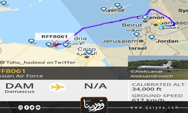 Photo of وصول طائرة تابعة لسلاح الجو الروسي لشرق ليبيا