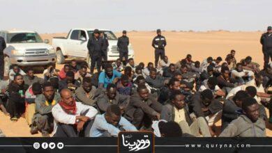 Photo of الكفرة : ترحيل 120 مهاجر غير شرعي إلى السودان