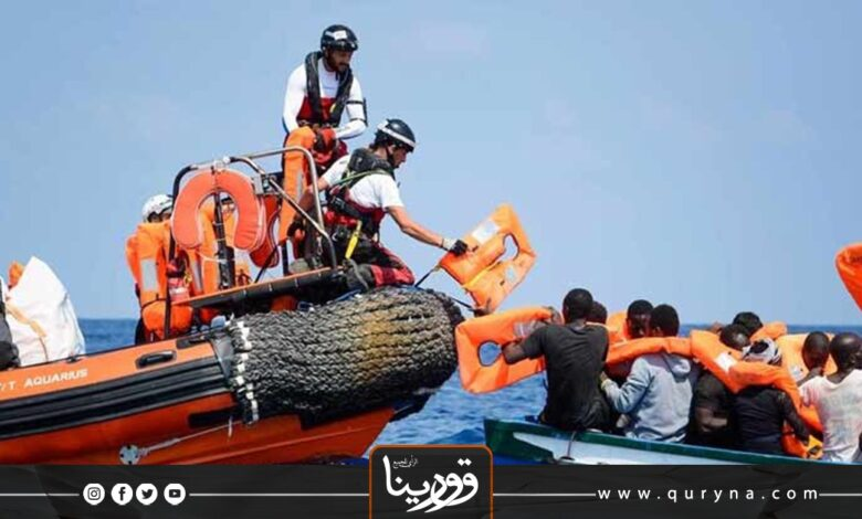 Photo of إنقاذ 149 شخصًا قبالة السواحل الليبية