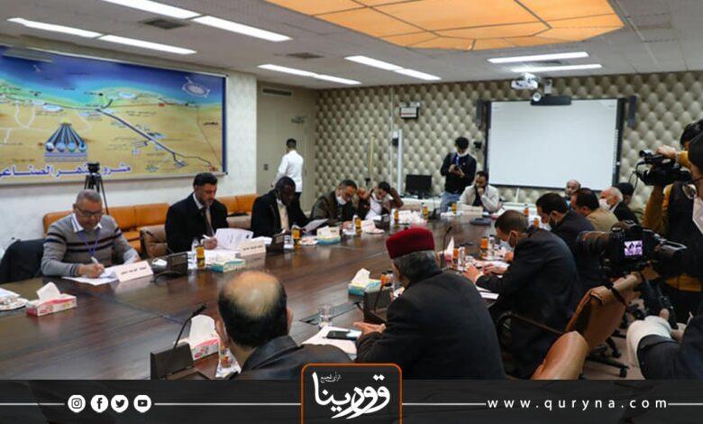 Photo of اجتماع موسع لبحث الاعتداءات المتكررة على مقتنيات النهر الصناعي العظيم