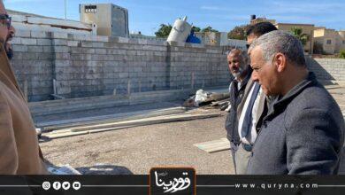 Photo of جولة تفقدية لمستشفى الوحدة بمدينة درنة