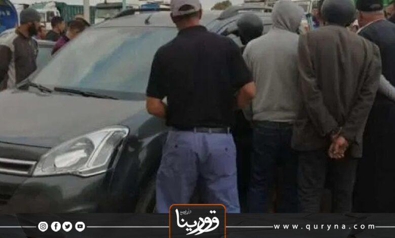 Photo of سرت : مقتل شاب داخل سيارته