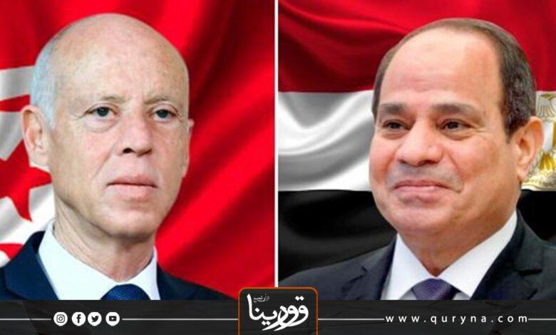 Photo of مباحثات رئاسية مصرية تونسية حول ليبيا
