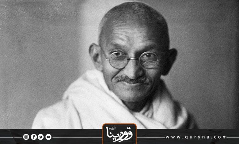 """Photo of """"غاندي و معنى الإيثار """""""