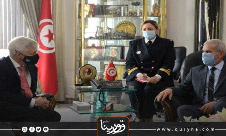 Photo of مباحثات بريطانية تونسية حول ليبيا