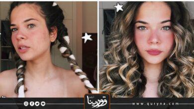 Photo of بالفيديو – الكيرلي بدون استخدام مكواة الشعر