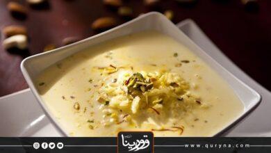 Photo of حلوى الأرز بالزعفران
