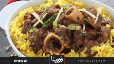 Photo of أرز بالكاري ولحم الخروف